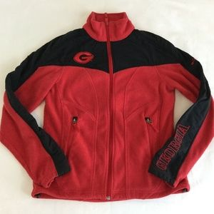 Columbia Georgia Bulldogs UGA Red Black Fleece